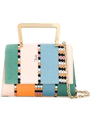 Emilio Pucci Printed Mini Satchel Multicolour