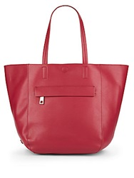 Kenneth Cole Reaction Essentials Faux Leather Tote Berry