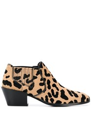 Tod's Leopard Pattern Boots 60