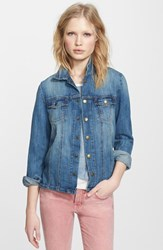 Women's Current Elliott 'The Mechanic' Jean Jacket