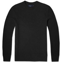 Paul Smith Lambswool Geometric Crew Knit Charcoal