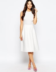 Traffic People Prom Skirt White