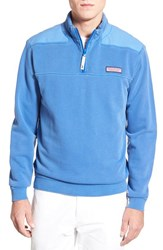 Men's Vineyard Vines 'Shep' Quarter Zip French Terry Sweater