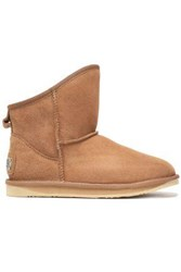 Australia Luxe Collective Shearling Ankle Boots Light Brown