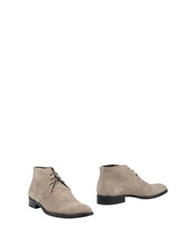 Mr And Mrs Yuo Ankle Boots Beige