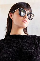 Urban Outfitters Backstage Cat Eye Sunglasses Black