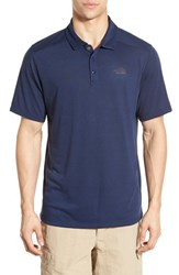The North Face Men's 'Crag' Flashdry Polo Cosmic Blue