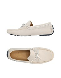 Harmont And Blaine Loafers Light Grey