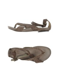 Malloni Footwear Thong Sandals Women