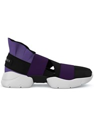 Emilio Pucci City Up Slip On Sneakers Black