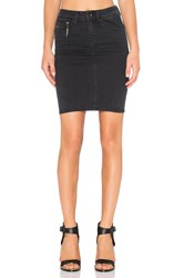 G Star New Midge Sculpted Slim Skirt Black