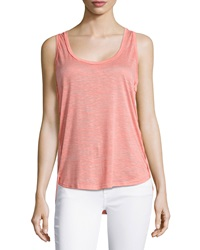 The Balance Collection Summer Breeze Singlet Tank Georgia Peach