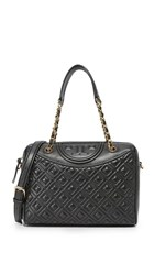 Tory Burch Fleming Duffel Bag Black