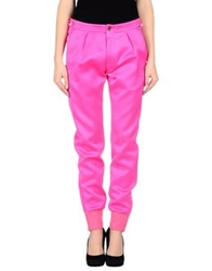 Paul Smith Casual Pants Fuchsia