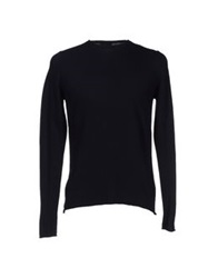 Seventy By Sergio Tegon Sweaters Dark Blue