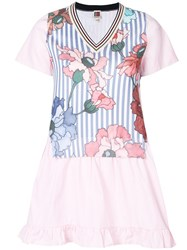 I'm Isola Marras Floral Print Tunic Pink And Purple