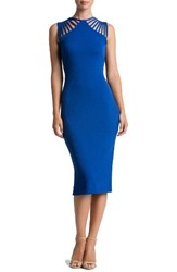Dress The Population Women's Gwen Midi Cobalt