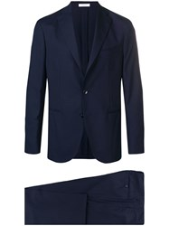 Boglioli Slim Fit Two Piece Suit Blue