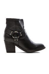 Frye Tabitha Harness Short Bootie Black