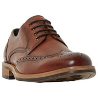 Bertie Packman Chunky Derby Brogues Tan