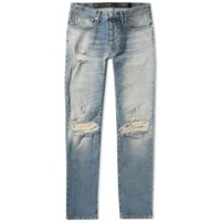 Unravel Project Distressed Skinny Jean Blue