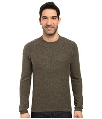 Royal Robbins Fireside Wool Crew Sweater Dark Olive Men's Sweater
