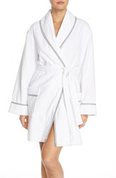 Women's Dkny 'Signature' Cotton Terry Robe