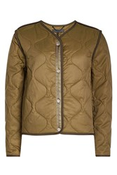 Rag And Bone Quilted Jacket With Cotton