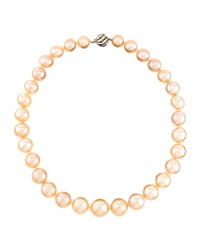 Belpearl Pink Freshwater Pearl Necklace