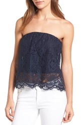 Chelsea 28 Women's Chelsea28 Strapless Lace Top