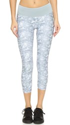 Prismsport Grey Camo Capri Leggings
