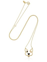 Ruifier Animaux Patch Gold Necklace