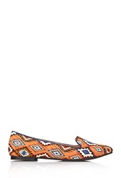 Forever 21 Tribal Print Loafers