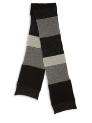 Bickley Mitchell Rib Textured Scarf Black