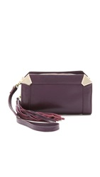 Foley Corinna Portrait Cross Body Bag Aubergine