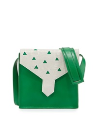 Margot Leather Cutout Shoulder Bag Kelly Lauren Merkin