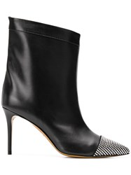 Alexandre Vauthier Chach 90 Booties Black