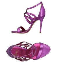 Icone Sandals Fuchsia