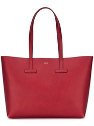 Tom Ford Large Shopper Tote Red