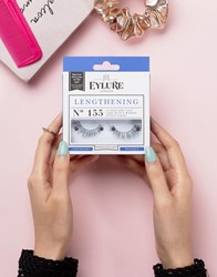 Eylure Lengthening Lashes No. 155 Lengthening No. 155 Black