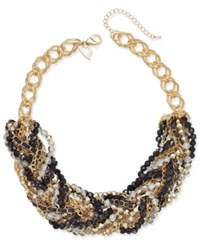 Thalia Sodi Chain Link Statement Necklace Only At Macy's Gold