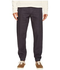 Jack Spade Linen Jogger Dark Navy Men's Casual Pants