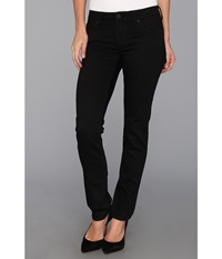 Kut From The Kloth Stevie Straight Leg In Black Black Women's Jeans