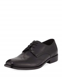 Kenneth Cole Leisure Activity Leather Oxford With Silver Technology Black