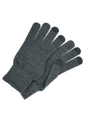 Your Turn Gloves Dark Grey Mottled Dark Grey