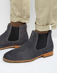 Call It Spring Draun Suede Chelsea Boots Grey
