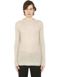 Rick Owens Mohair And Wool Blend Sweater