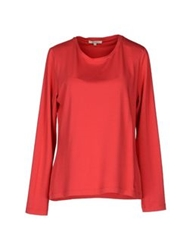 Gigue Long Sleeve T Shirts Coral