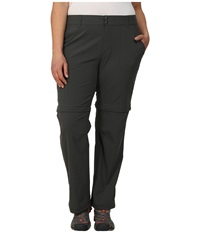 Columbia Plus Size Saturday Trail Ii Convertible Pant Grill Women's Casual Pants Gray