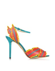 Charlotte Olympia Navajo Multicolor Leather Sandal